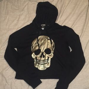 A skull sweater